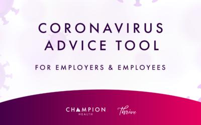 Coronavirus Advice Tool