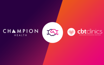 Champion Health partners with CBT Clinics