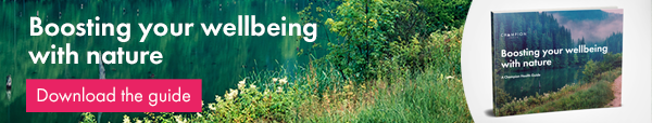 Boosting your wellbeing with nature guide