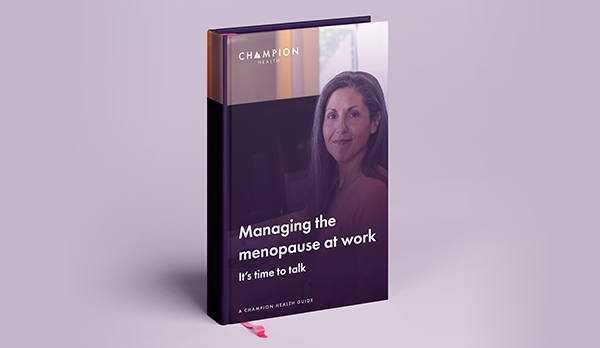 Managing the menopause at work guide