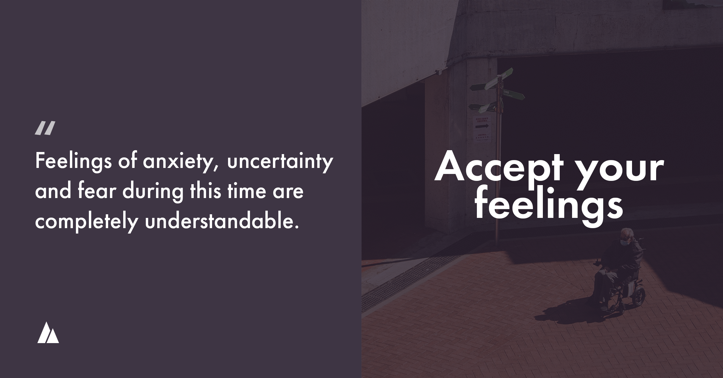 Accept your feelings of post lockdown anxiety